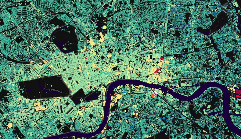 London data visualization
