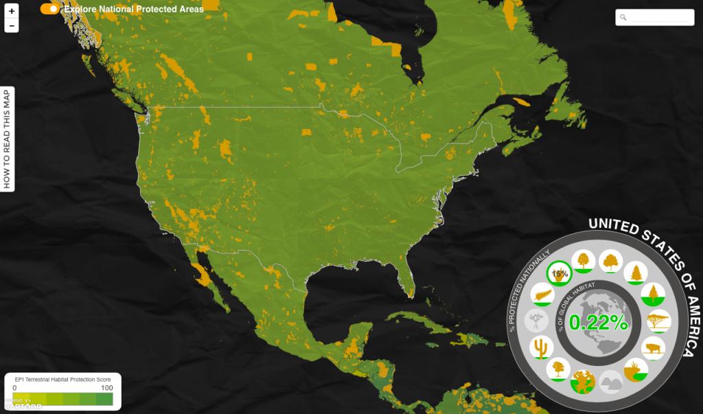 nature data visualization