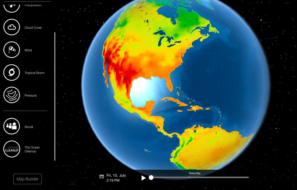 weather data visualization