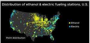 electric car data visualization
