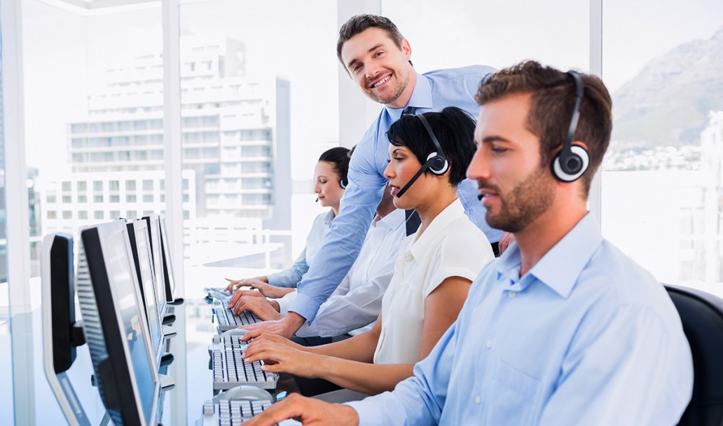 The contact center | 22% Increase in Sales